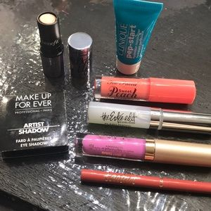 DesignerLip bundle and eyeshadow